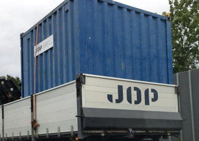 JOP, logo til murermester